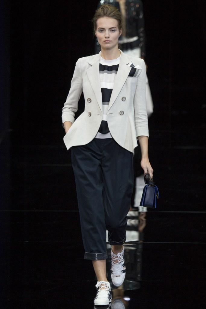 Emporio Armani at Milan Fashion Week SS15