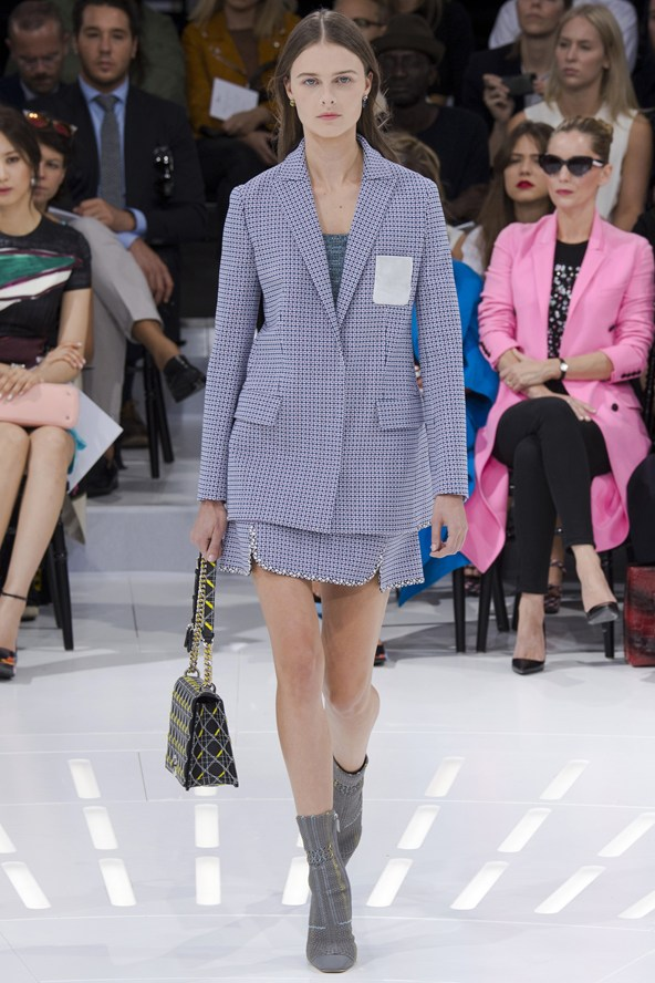 Christian Dior SS15 at Paris Fashion Week
