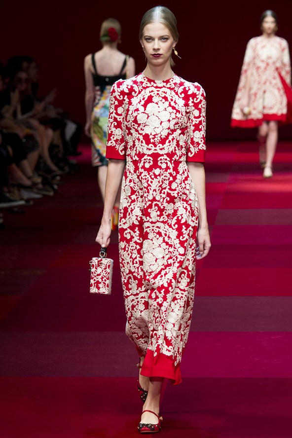 D&G Milan Fashion Week SS15