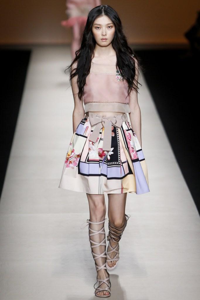 Alberta Ferretti Spring Summer 2015 Milan Fashion Week