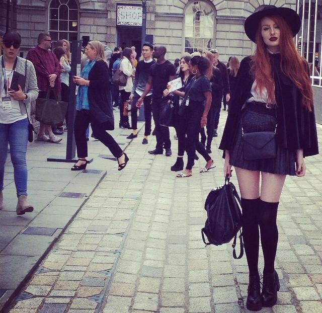 London Fashion Week 2014 Street Style
