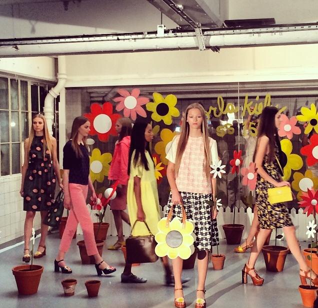 Orla Kiely Spring Summer 15 London Fashion Week