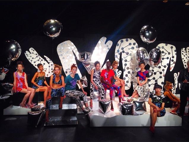 Lulu & co at London Fashion Week SS15