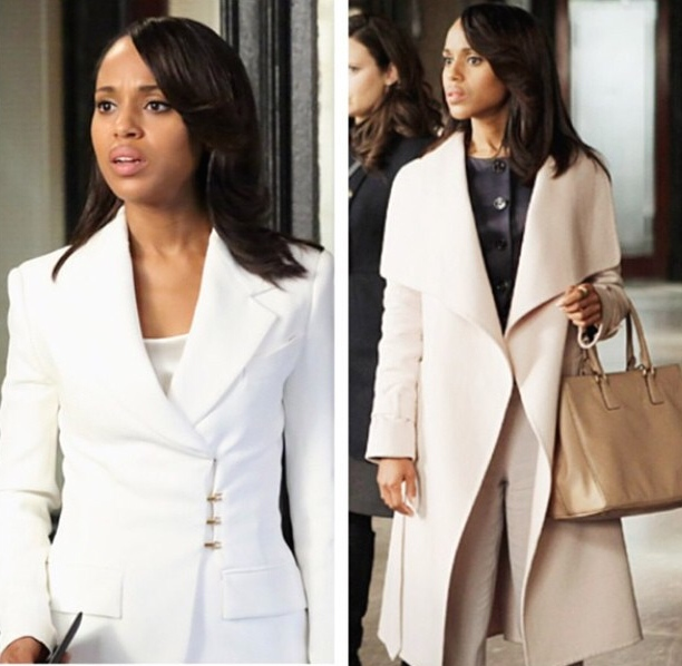 "Kerry Washinton as ""Olivia Pope"" in ""Scandal"""
