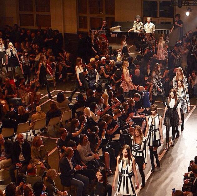 Riccardo Tiscis Givenchy SS15 Show