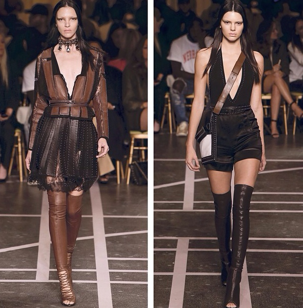 Kendall Jenner in the Riccardo Tiscis Givenchy SS15 Show