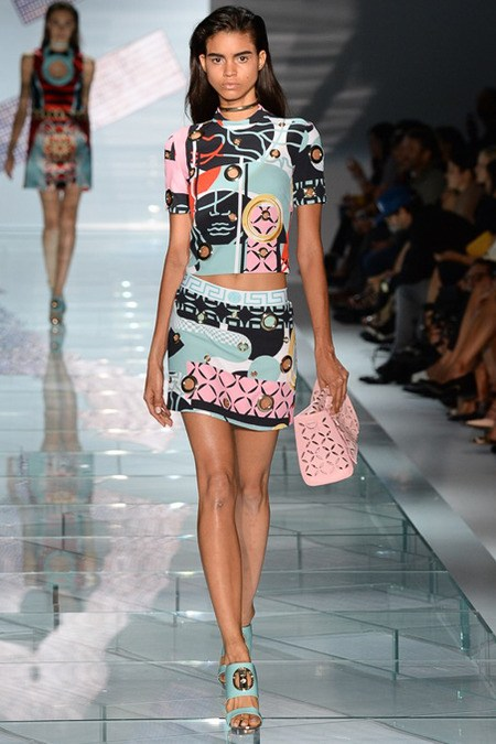 Versace Milan Fashion Week SS15