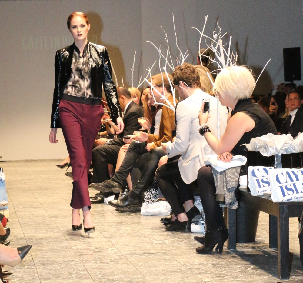Cailtin Power PARKLUXE Autumn and Winter Show In Calgary East Village. Saturday Oct. 4, 2014.(Photo by Tina Amini)