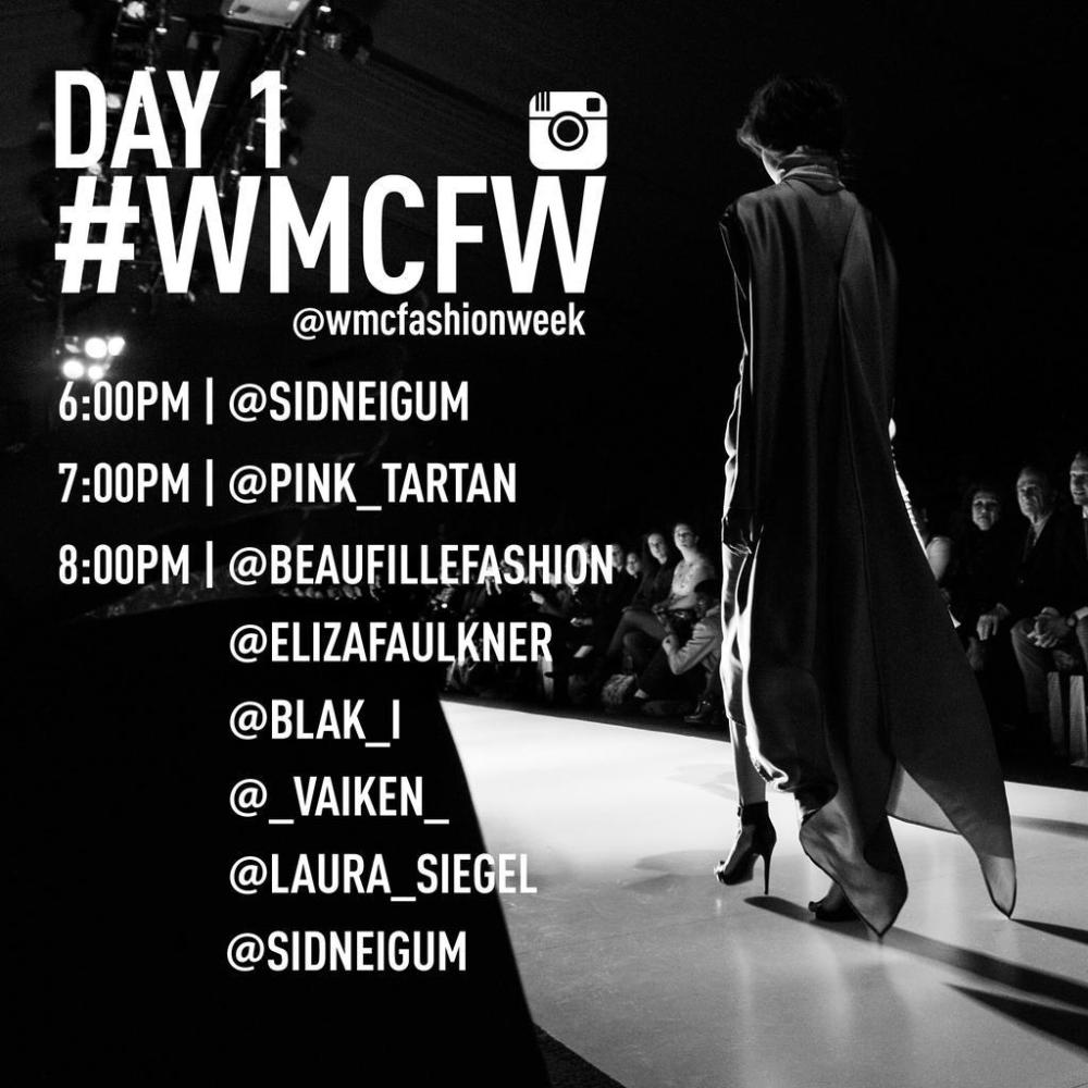 Day 1 World Master Card Fashion Week