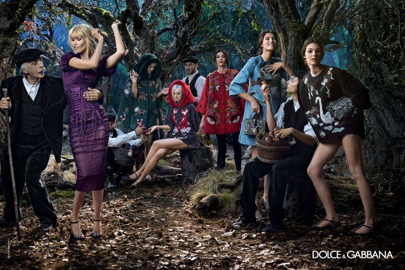 D&G  Autumn/Winter 2014/2015 Campaign