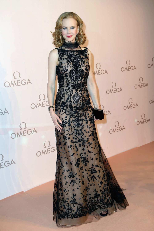 Nicole Kidman wearing Oscar de la Renta'