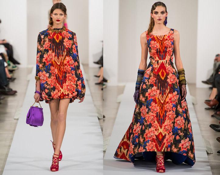 Oscar de la Renta's fall 2013 collection