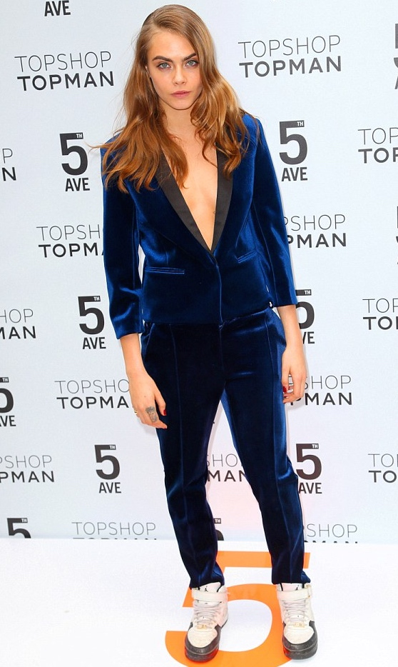 TOPSHOP opening in NYC 5th ave