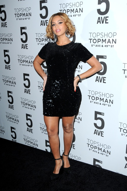 Topshop Topman New York City Flagship Opening - Red Carpet Arrivals Featuring: Beyoncé Where: New York City, New York, United States When: 04 Nov 2014 Credit: Ivan Nikolov/WENN.com