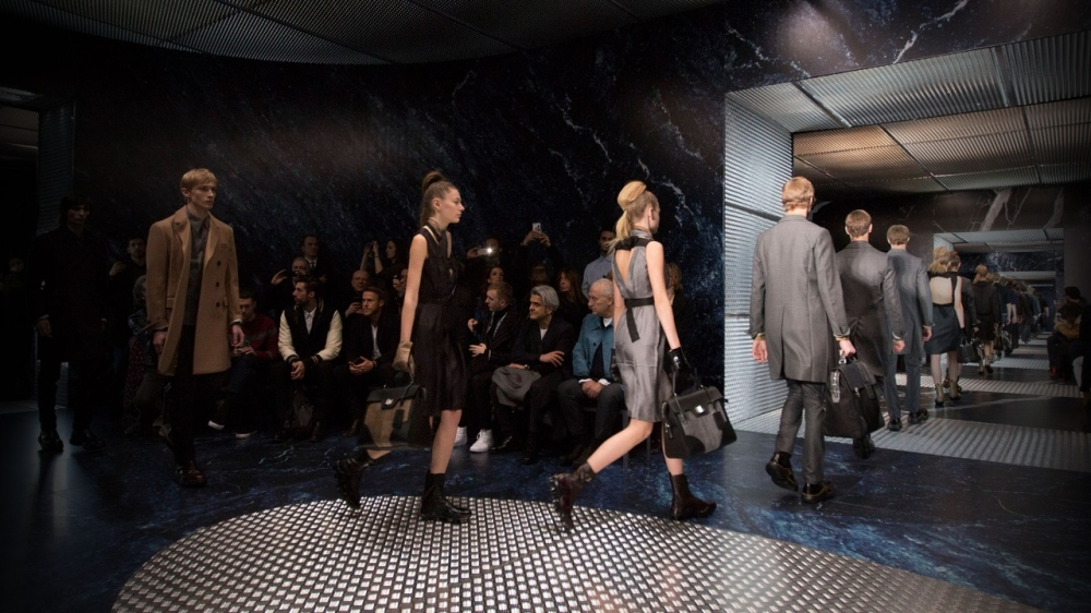 Prada AW 15 at Milan Fashion Week