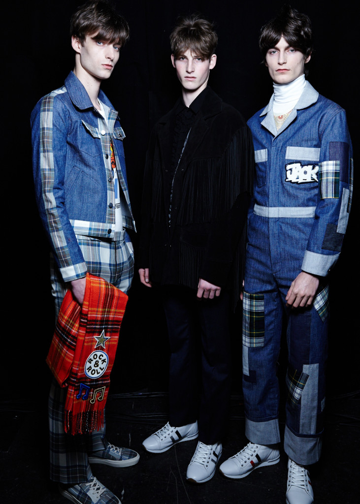 Back Stage Top Man A/W15