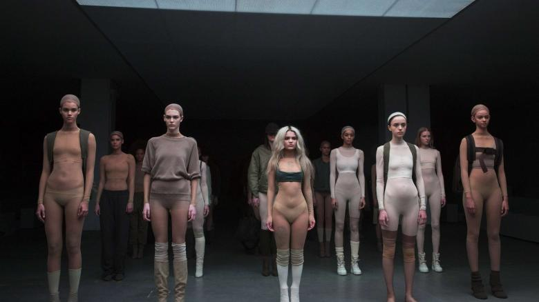 Models-present-creations-resulting-from-a-Fall-Winter-2015-collaboration-between-Kanye-West-and-Adidas-at-New-York-Fashion-Week