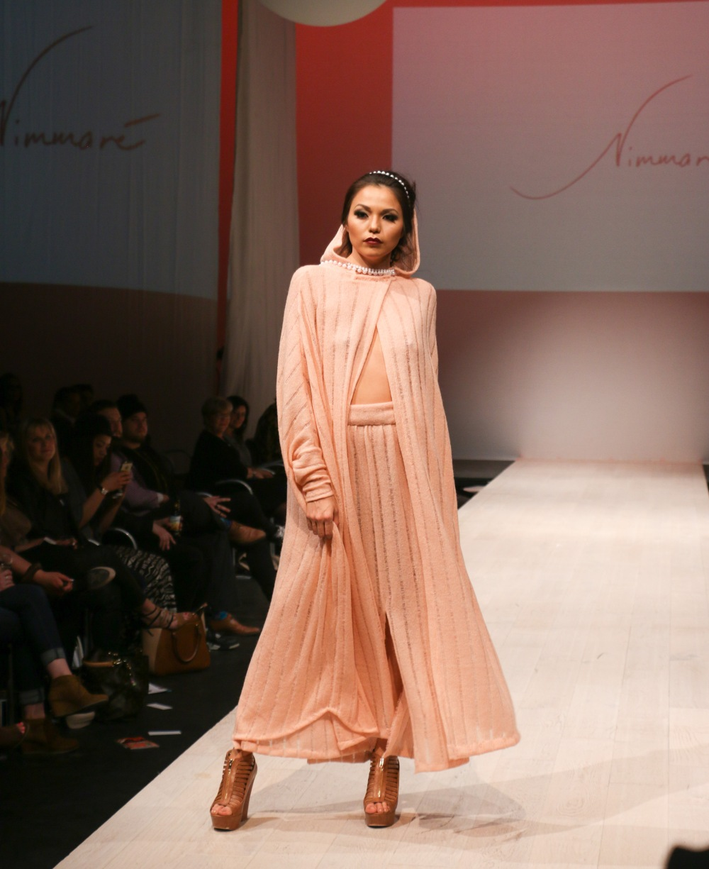 Western Canada Fashion Week in Edmonton on Tuesday, March 31, 2015. Nimmaré A/W 15 runway show. (Photo by Tina Amini)